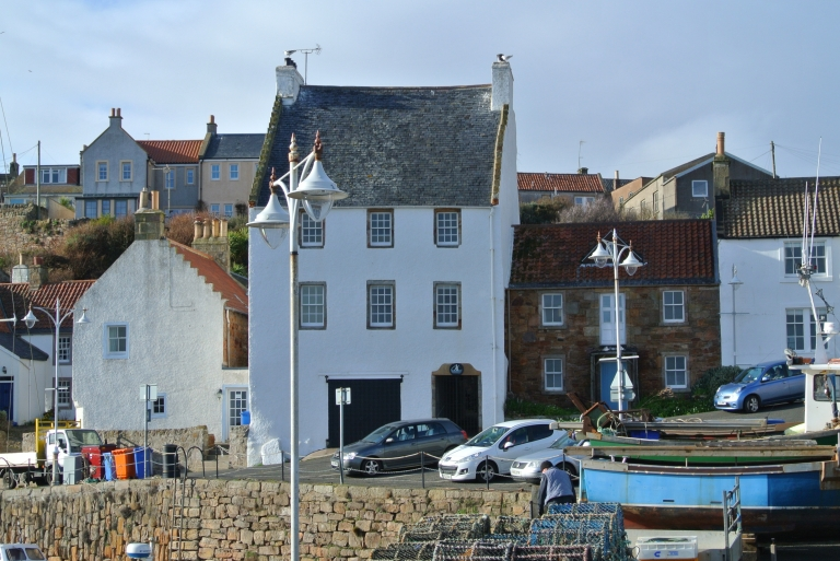 Customs House in Crail, Scotland.
