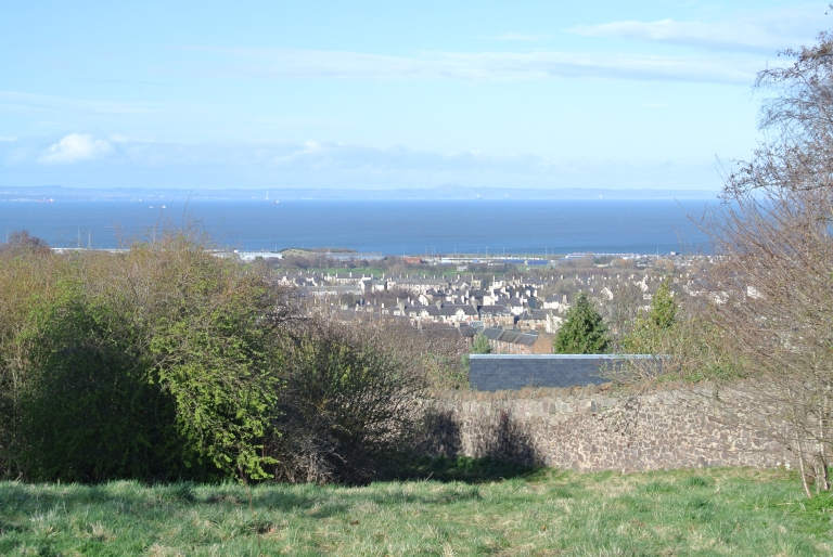 A view of the Firth of Forth in Scotland.