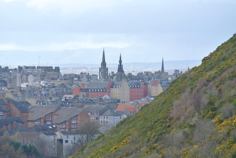 Edinburgh, Scotland skyline.