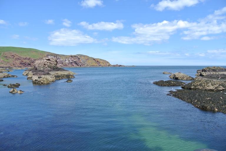 The North Sea coast.