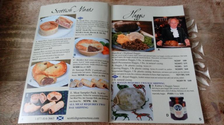 Scottish Gourmet USA catalog.