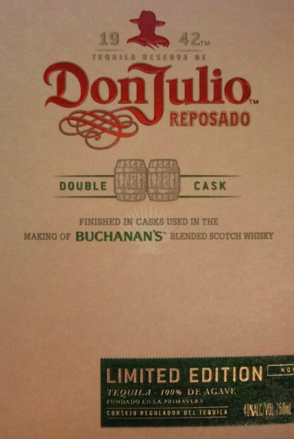 Whisky and tequila meet in the box of Don Julio Reposado Limited Edition.