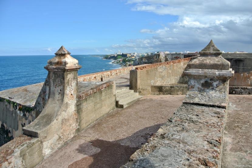 My Plaid Heart In the West Indies:  Castillo de San Felipe delMorro